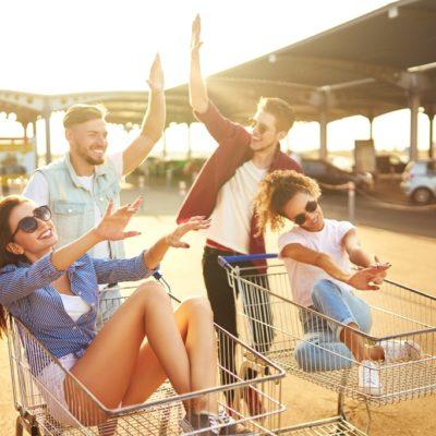 happy parking retail