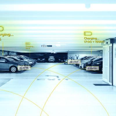 Voor en achteraf betaald parkeren met kentekenherkenning