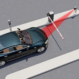 Toegangssysteem voertuigen met koppeling reserveringsysteem