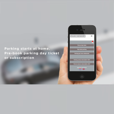 Online reservation and payment for parking