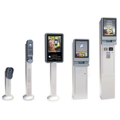 License plate reader, Ticket reader, Outdoor display, Ticket reader touch, Payment machine